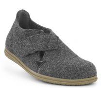 New Feet Hjemmesko Antrasitgrå Uld Filt
