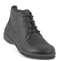 New Feet Snørestøvlet Sort