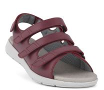 New Feet Bordeaux Sandal m/letvægtssål