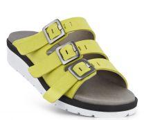 New Feet Slipper Lime mikrofiber