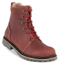 New Feet Bordeaux Snørestøvle