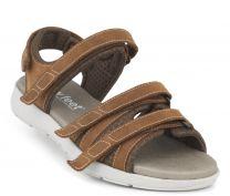 New Feet Damesandal Natur med letvægtssål