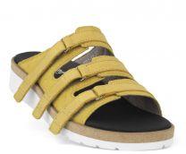 New Feet Dameslippers Gul