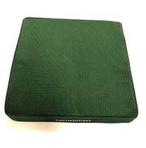 Siddepude 40x40x7,5cm, Kvart, Grøn