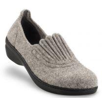 New Feet Dame hjemmesko uld Grå