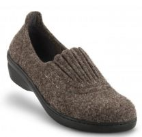 New Feet Dame hjemmesko uld Brun