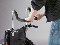 Skubbehåndtagsforhøjer kørestol