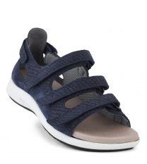 New Feet Blå Sandal m/hælkappe