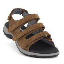 New Feet Bred Sandal Brun