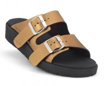 New Feet Slippers Bronze