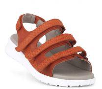 New Feet Let damesandal Orange