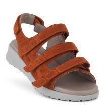 New Feet Terracotta Sandal med Print