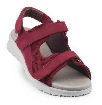 New Feet Ruskind Sandal Bordeaux