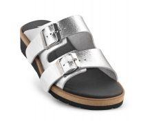 New Feet Slipper Sølv Metallic
