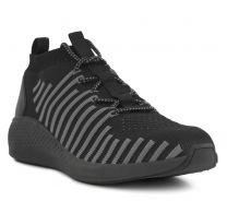 Green Comfort Sneaker Sort Textil