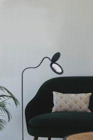 Lup Og Gulvlampe 10,5W Sort Halo Design