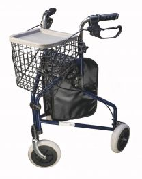 Rollator med 3 hjul