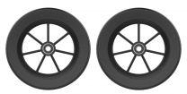 Blød hjulsæt til rollator