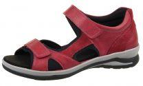 Fidelio Sandal Rød med Velcroremme