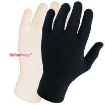 Tynde handsker naturfarvet - m. fingre