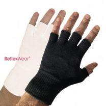 Naturfarvet tynde handsker uden fingre