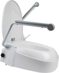 Toiletsædeforhøjer 6-10-15cm