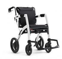Rollz kombineret Kørestol og Rollator Hvid
