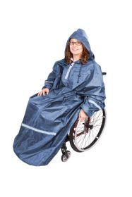 Rolko Regnslag med ærmer kørestolsbruger