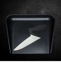 Webequ kokkekniv + Skærebræt