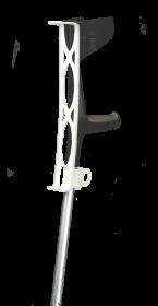 StayPlus Krykkeholder Hvid