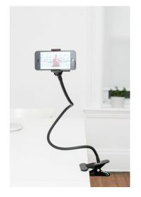 Smartphone holder m/klips og flexiarm