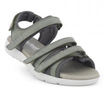 New Feet Damesandal Grøn med letvægtssål