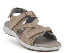 New Feet Bred Sandal Grå