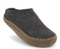 New Feet Let Filt Hjemmesko Antrasit