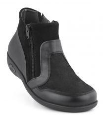 New Feet Damestøvlet Sort