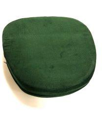 Siddepude 10cm med bånd, Grøn
