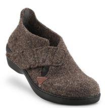 New Feet Hjemmesko Brun Filt