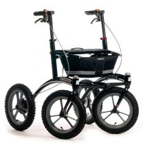 Walker 14er Rollator Sort/Sort/Grå