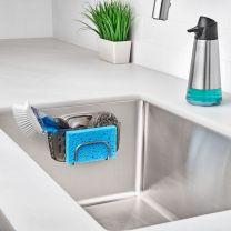 Silikoneholder med sugekop til vasken Str M