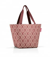 Reisenthel Shopper M Diamonds Rouge
